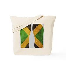 Jamaica Flag Flip Flops Tote Bag