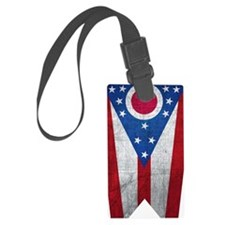 Ohio flag Luggage Tag