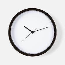 adventureAlpaca1B Wall Clock