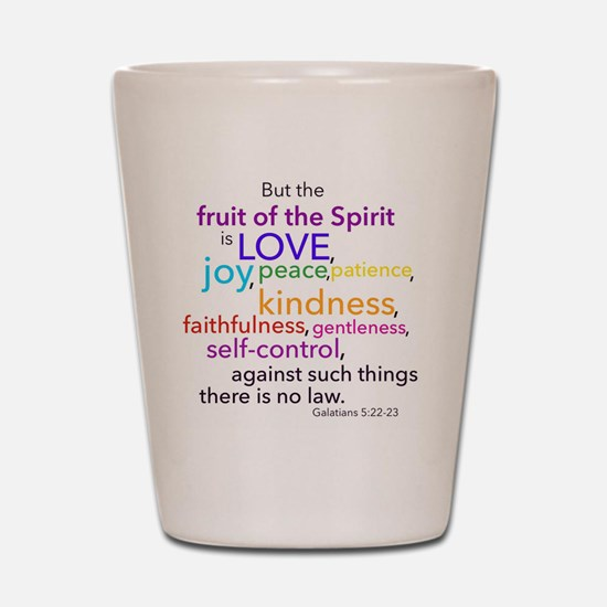Fruits of the Spirit Shot Glass