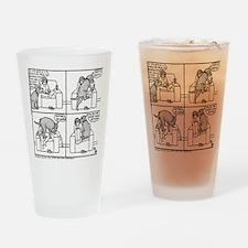 Softly Softly Poppy Drinking Glass