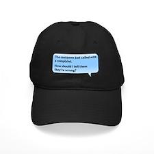 The customer just called Baseball Hat