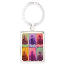 Florence Nightingale Colors 3a Portrait Keychain