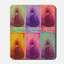 Florence Nightingale Colors 3a Mousepad