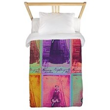 Florence Nightingale Colors 3a Twin Duvet