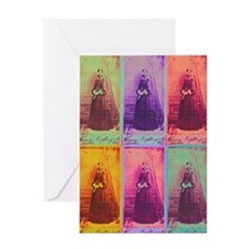Florence Nightingale Colors 3a Greeting Card