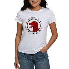 Vizsla Is My Copilot Women's T-Shirt