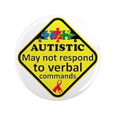 "Autistic 3.5"" Button"