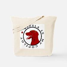 Vizsla Is My Copilot Tote Bag