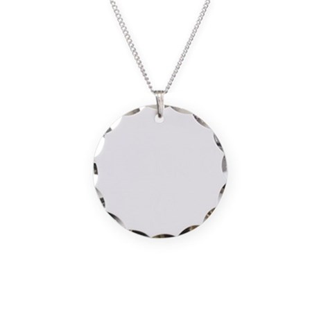 IN KEY WEST - BLACK Necklace Circle Charm