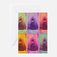 Florence Nightingale Colors 1a Greeting Card