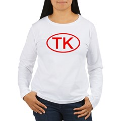 TK Oval (Red) T-Shirt