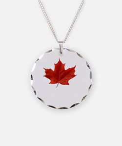 A Proud Canadian Necklace