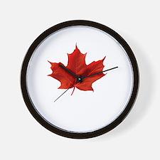A Proud Canadian Wall Clock