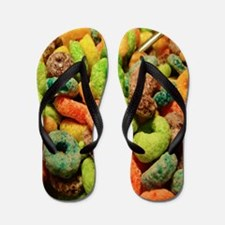 Loops Cat Forsley Designs Flip Flops