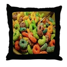 Loops Cat Forsley Designs Throw Pillow