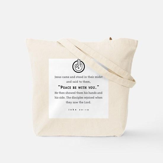Pax Vobiscum Tote Bag