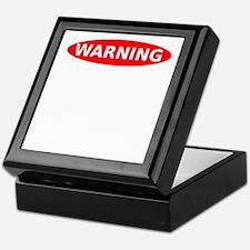 May Contain Gin Warning Keepsake Box