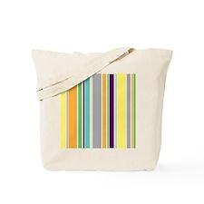 Multi Stripes Tote Bag