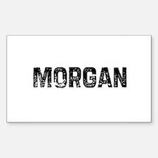 Morgan Rectangle Decal