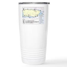 Puerto Rico Lighthouse  Travel Mug