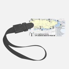 Puerto Rico Lighthouse Tour Luggage Tag