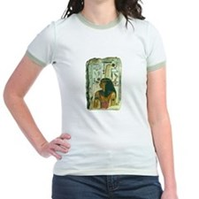 Egyptian Pagan Goddess Ma'at Ringer T-Shirt