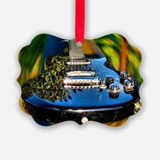 Rocked Out Guitar Ornament