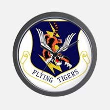 23rd FW Flying Tigers Wall Clock
