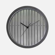 Tin Industrial Metal Shower Curtain Wall Clock