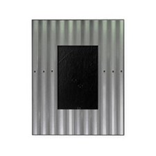 Tin Industrial Metal Shower Curtain Picture Frame