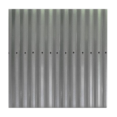 Tin Industrial Metal Shower Curtain Tile Coaster By Admin Cp1903001