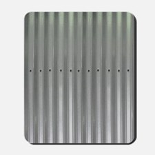 Tin Industrial Metal Shower Curtain Mousepad