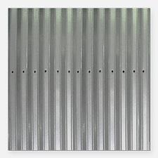 "Tin Industrial Metal Sho Square Car Magnet 3"" x 3"""