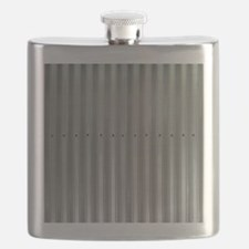 Tin Industrial Metal Shower Curtain Flask