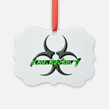 TeamDART Toxic 10x10 Ornament