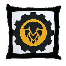 hopgear color Throw Pillow