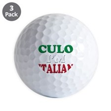 Italian Pride Golf Ball