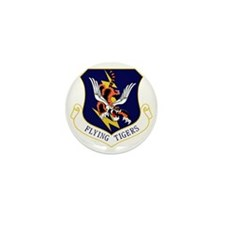 23rd FW Flying Tigers Mini Button