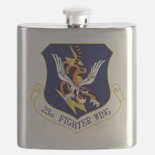 23rd FW Flying Tigers Flask