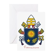 Pope Francis coat of Arms Greeting Card