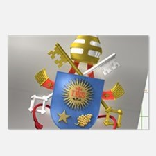 Pope Francis coat of Arms Postcards (Package of 8)