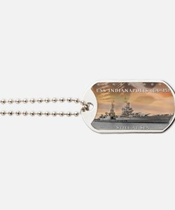 USS Indianapolis Battle Flag Dog Tags