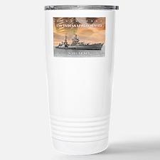 USS Indianapolis Battle Travel Mug