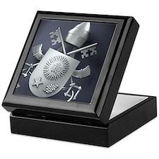 Pope Francis coat of Arms Keepsake Box