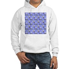 doves blue large Hoodie