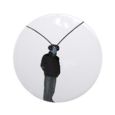 Mantis Man Round Ornament
