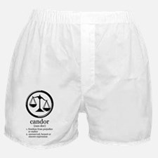 candor sign and definition Boxer Shorts