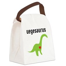 vegesaurus Canvas Lunch Bag