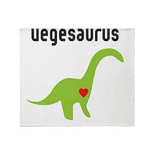 vegesaurus Throw Blanket
